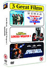 Comedy Collection - Hot Shots/National Lampoon's Loaded Weapon 1/Spaceballs (DVD, 2007, 3-Disc Set, Box Set)