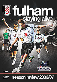 Fulham FC - Staying Alive - Season Review 2006/07 (DVD, 2007)