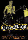 Cro-Mags - Final Quarrel - Live At CBGB 2001 (DVD, 2007)
