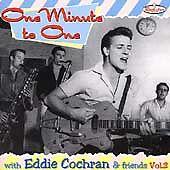 EDDIE-COCHRAN-One-Minute-To-One-CD-1950s-Rock-n-Roll-Rockabilly-rare-tracks