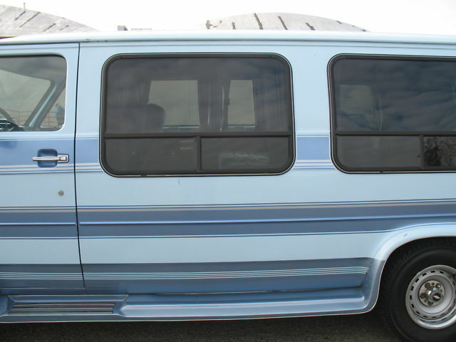 Very Clean 1991 Chevrolet G20 Van Coachcraft Conversion