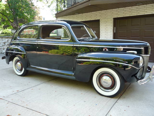 1941 FORD SUPER DELUXE-TUDOR SEDAN-41K MI-ORIG SURVIVOR