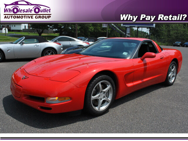 Corvette Red Low Miles 2004