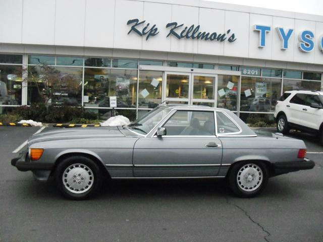 1988 Mercedes Benz 560SL Hardtop Leather Runs Good Nice