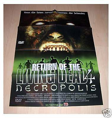 of the Living Dead 4 Necropolis (Halloween 4 Film-poster)