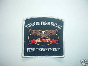PATCH-FIRE-AND-RESCUE-TOWN-OF-FOND-DULAC-VOLUNTEER-DEPT