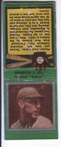 1934-Diamond-Baseball-Matchcover-112-Thorton-Lee-Cleveland-Indians