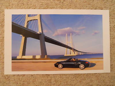 2000 Porsche Boxster Showroom Advertising Poster RARE!! Awesome L@@K