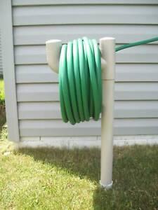 Garden Water Hose Holder Lawn Hanger Stand Mess Free Ebay