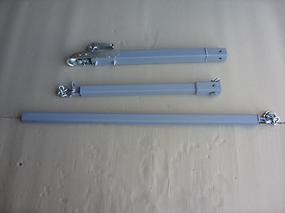 3.5ton RECOVERY DOLLY TOW BAR TOWING POLE  A FRAME 3 piece