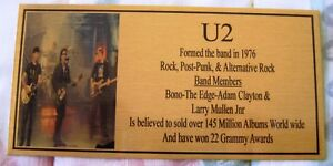 U2-Band-Gold-Plaque-Free-Postage