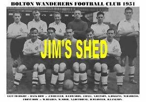 BOLTON-WANDERERS-TEAM-PRINT-1951-LOFTHOUSE-BALL