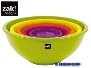 Image Is Loading Zak Design Dish Set Eden Colorways 5 Pcs