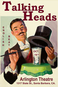 Talking-Heads-English-Beat-at-the-Arlington-Theatre-Santa-Barbara-Poster-1980