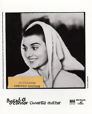 sinead o'connor limited edition press kit #2