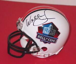 WILLIE-LANIER-Signed-HOF-Mini-Helmet-KANSAS-CITY-CHIEFS