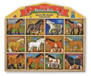 PASTURE-PALS-HORSES-PLAY-SET-Melissa-amp-and-Doug-FUN