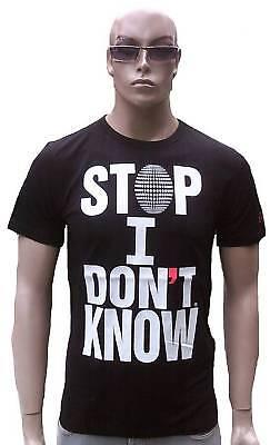 WoW Cabaneli Milano STOP I DON'T KNOW Italy Star DJ Club Clubwear T-Shirt g.L gebraucht kaufen  Freising