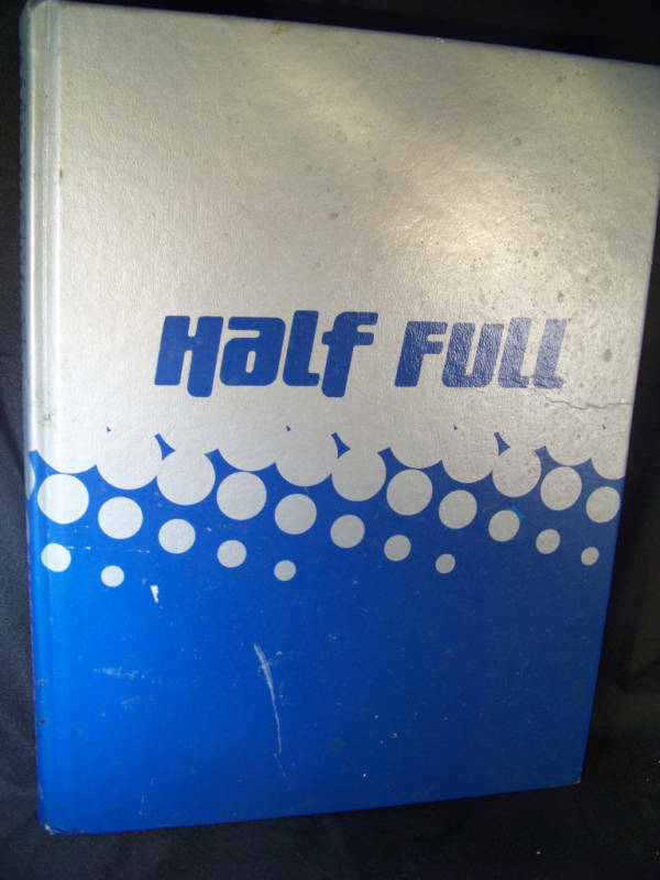 "2006 University of Mary Washington Yearbook ""Half Full"""