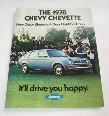 1978 Chevrolet Chevette Original Dealer Sales Brochure