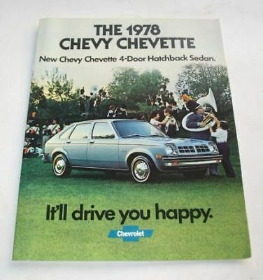 1978 Chevrolet Chevette Original Dealer Sales Brochure