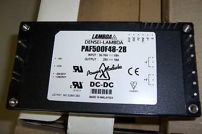 LAMBDA PAF500F48-28  DC - DC CONVERTER