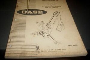CASE-1968-32-Backhoe-Factory-Parts-Book
