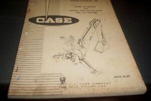 CASE-1968-32-Backhoe-Factory-Parts-Book