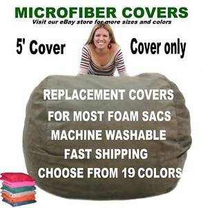 Bean-Bag-Chair-Cover-Factory-Direct-Cozy-Sack-Store-Fits-5-Beanbags