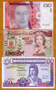 GIBRALTAR-SET-3-different-50-pounds-1986-2006-2010