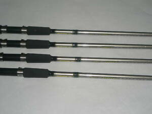 4 CRAPPIE FISHING RODS/POLE PINNACLE LIMIT ROD 10' FOR JIGGING OR TROLLING