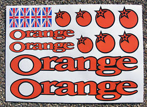 ORANGE-Mountain-Bike-MTB-Cycle-Frame-Decals-Stickers