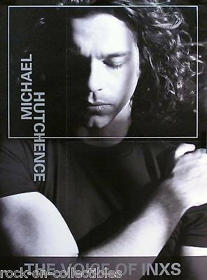 Inxs Michael Hutchence 99 Solo Album Pre Release Poster