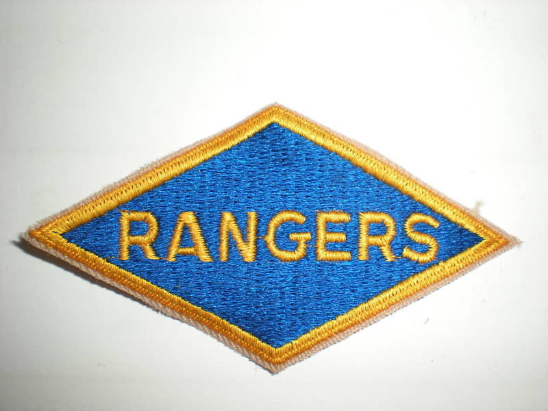 Wwii Us Army Ranger Battalions Patch (reproduction)