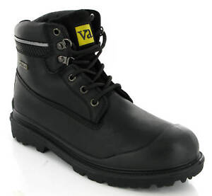 VA WATERPROOF STEEL TOE SAFETY WORK S3 BOOTS MENS UK7-12