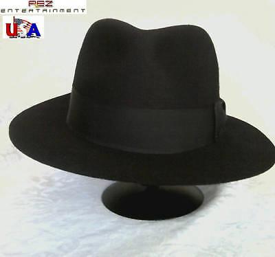 Michael Jackson Clothing Style (Michael Jackson Billie  Jean Style Black Fedora)