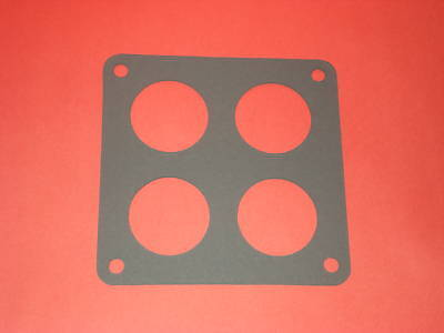 Holley Dominator 4 Hole Base Plate Gaskets 5 Pack