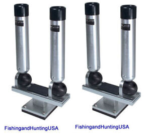 2 NEW BIG JON MULTI-SET DUAL ROD HOLDERS Downrigger