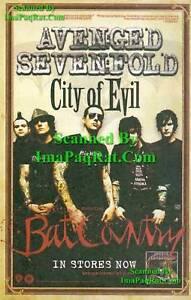 Avenged-Sevenfold-City-of-Evil-Great-Photo-Print-Ad