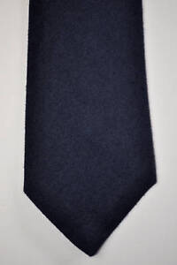 NWT Atmosphere Wool-Cashmere Charcoal Tie Made in Italy (Neiman Marcus)