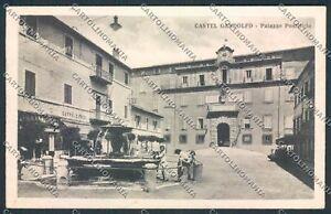 Roma Castel Gandolfo cartolina D4828 SZD - Italia - Roma Castel Gandolfo cartolina D4828 SZD - Italia