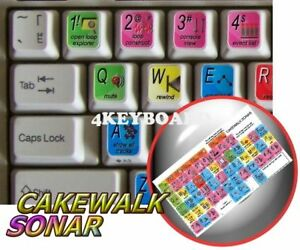 Cakewalk-Sonar-keyboard-sticker