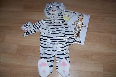 White Tiger Infant Halloween Costume (Infant Baby Size 6-12 Months Underwraps White Tiger Halloween Costume)
