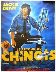 sur LE RETOUR DU CHINOIS Affiche Cinéma / Movie Poster JACKIE CHAN