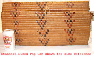 Vintage-Northwest-Coast-Salish-Imbricated-Cedar-Basket-NW-Pacific-Native-Indian