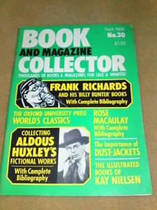 BOOK-COLLECTOR-ALDOUS-HUXLEY-Sept-1986-30