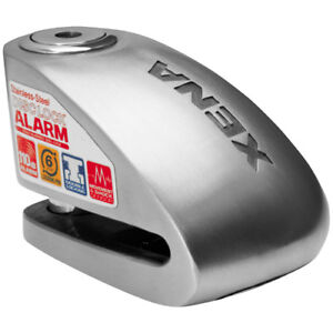 Xena-XX-6-Series-Security-Alarm-Disc-Lock-Silver-XX-6SS