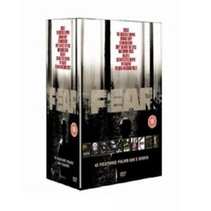 FEAR - 10 Horror Film Collection - DVD Boxset - Brand New - All Reg