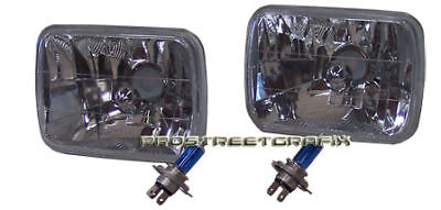 78-86 Ford F150 F250 F350 Euro Clear Xenon Headlights