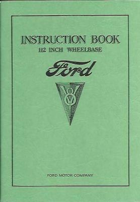 1934 Ford Car (8 Cylinder) Owner's Manual